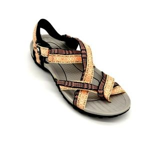 Muk Luks Womens Toe Strappy Sandals US Size 7 New